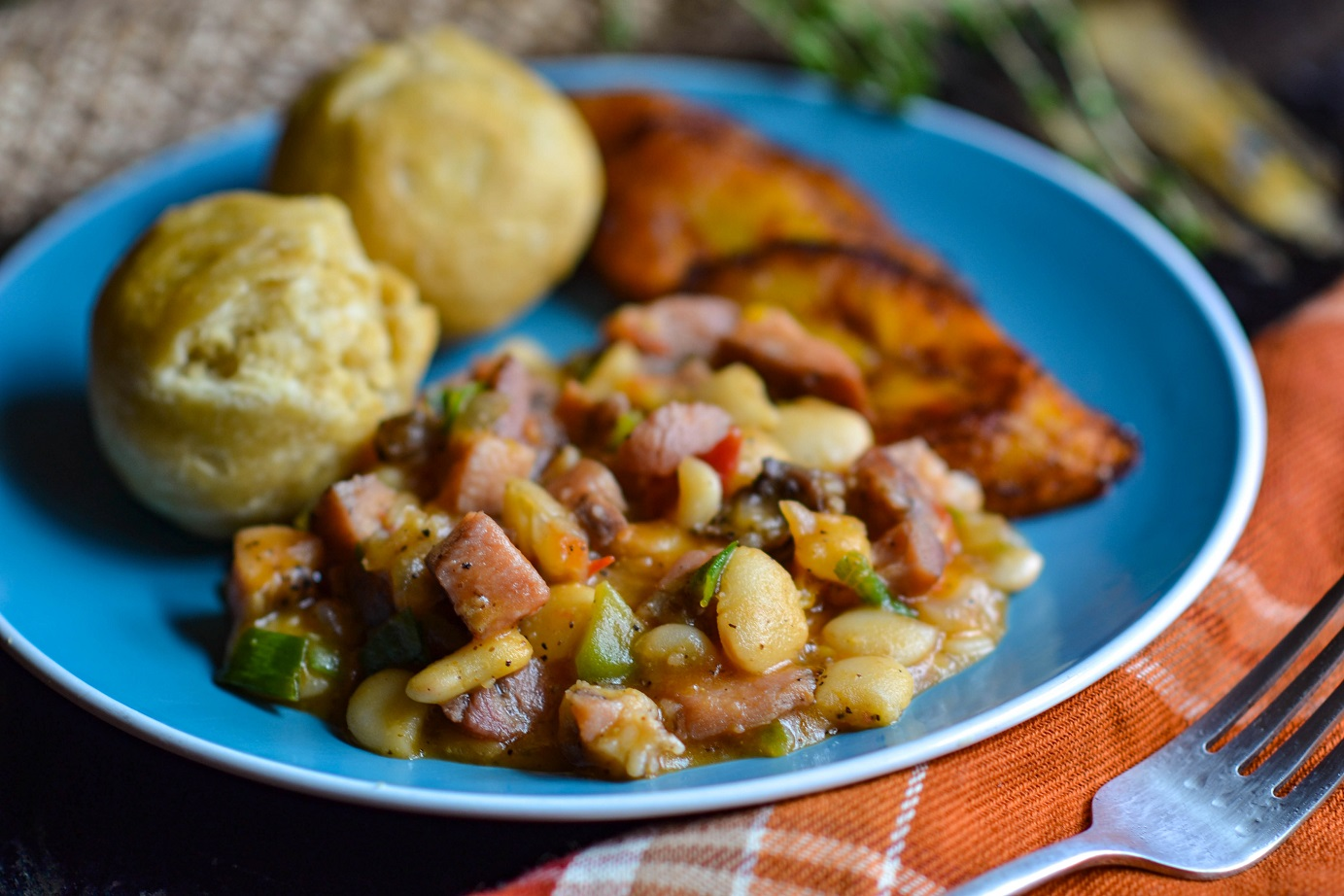 Corned Pork and Butter Beans