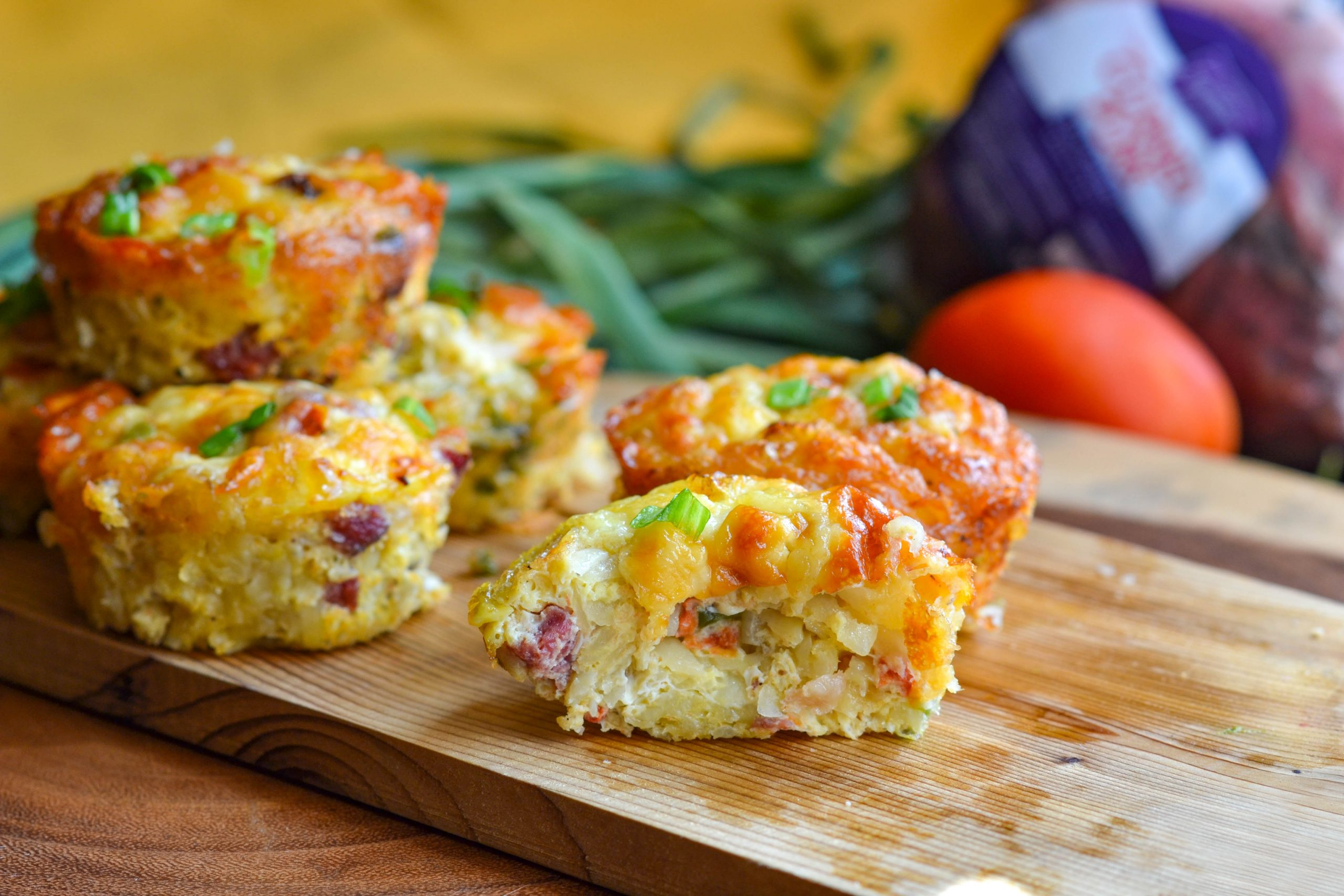 Corned Pork and Eggs Breakfast Muffins