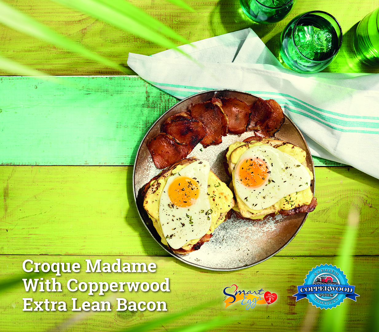 Croque Madame With Copperwood Extra Lean Bacon