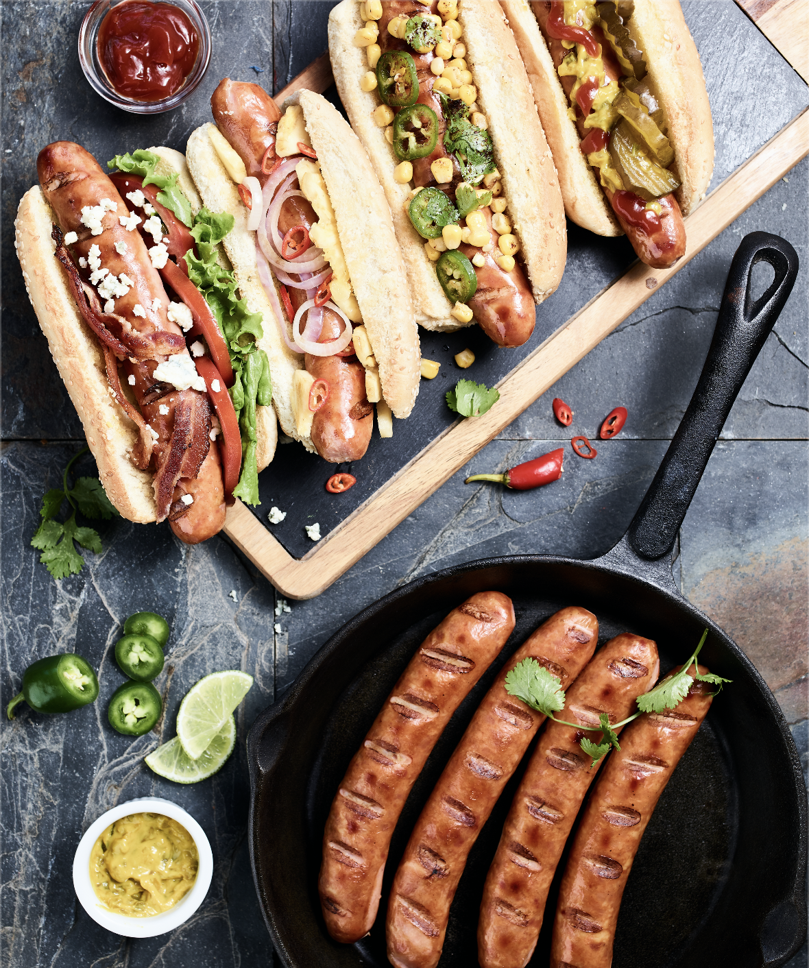 Gourmet Bad Dawg Sausages
