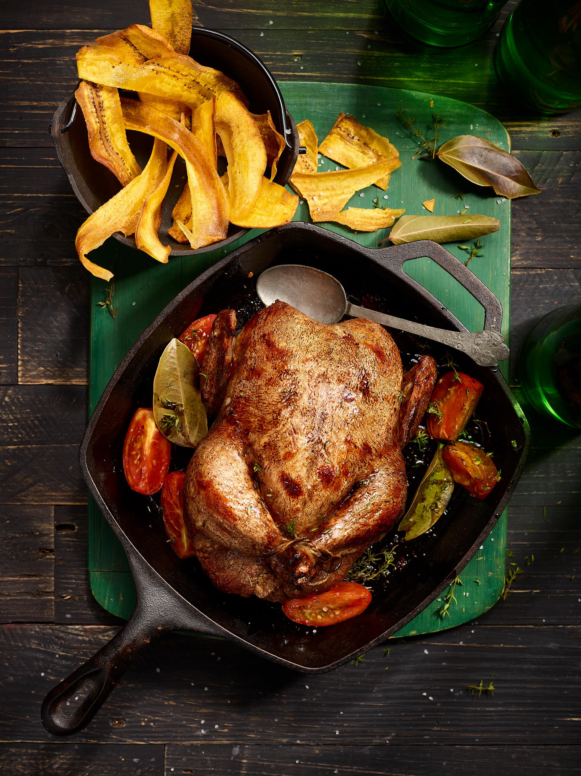 Buttermilk-Marinated Roast Chicken