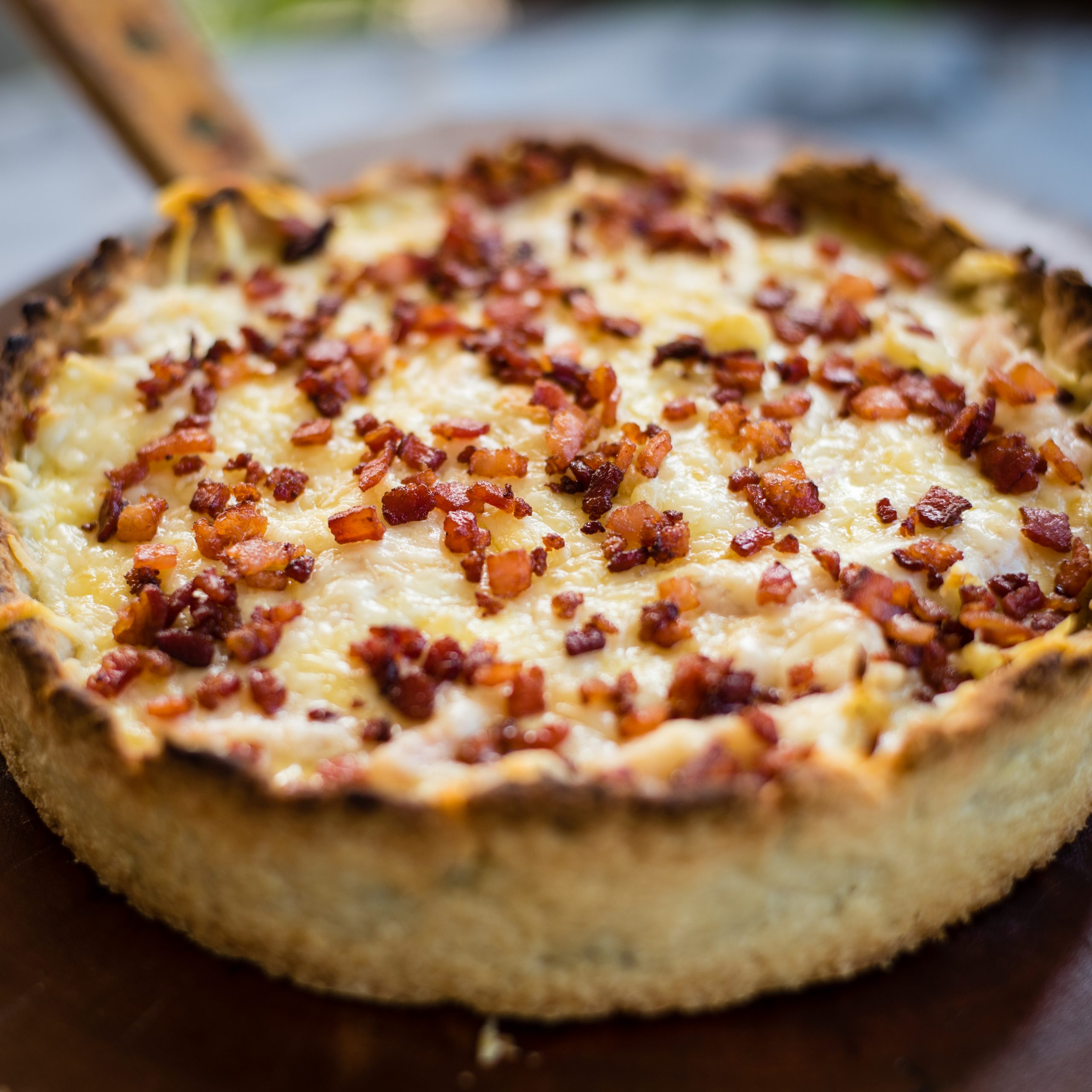 Extra Lean Bacon Quiche