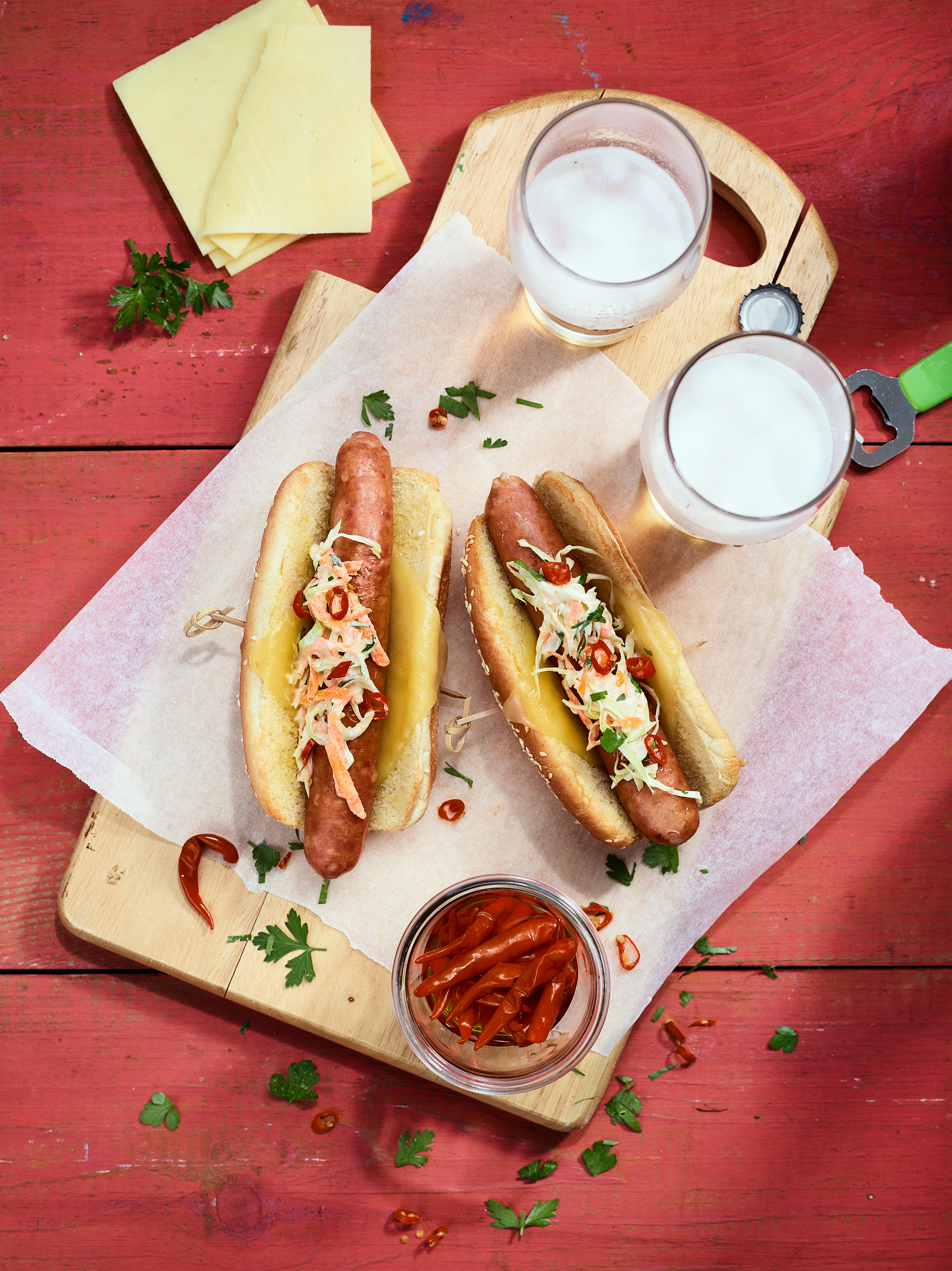 Italian Style Bad Dawg Sausages