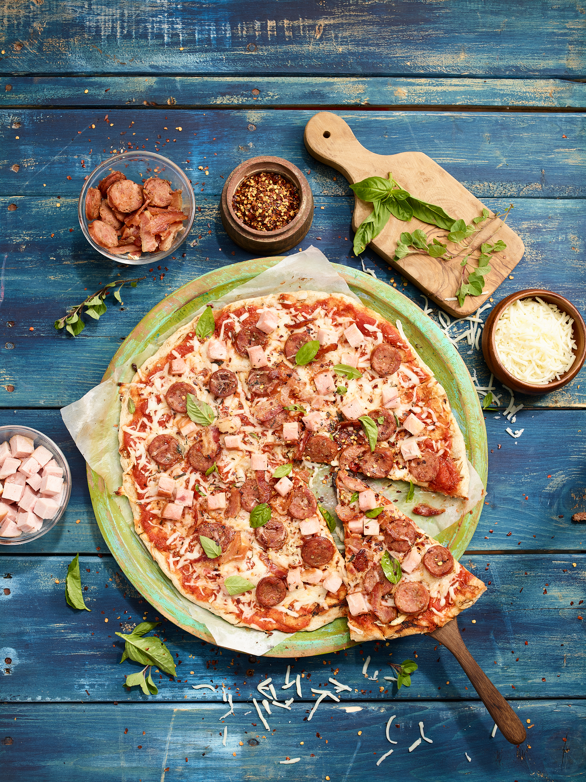 The Ultimate Meat Lovers Pizza